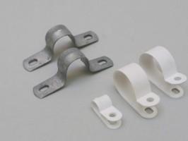 Материал для открытой электропроводки хомуты металлические