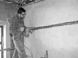 Скрытая электропроводка в квартире