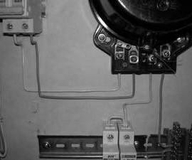 Схема подключения электросчетчика в квартире