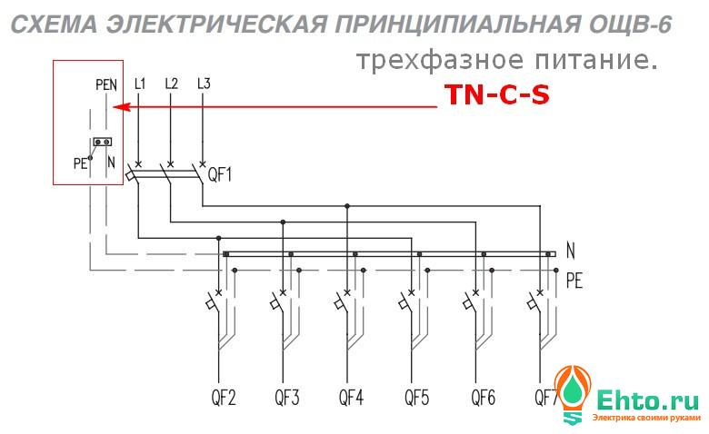 Схема 3. Принципиальная