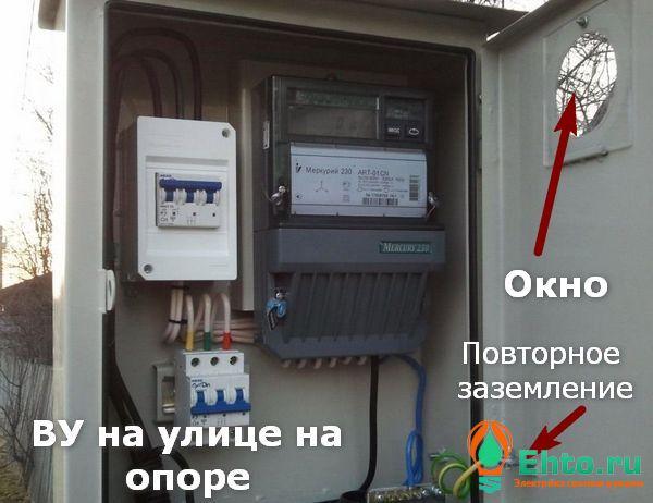 Сборка электрощита в частном доме