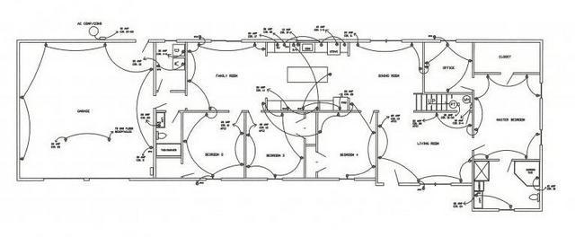технические условия для электропроекта схема проводки