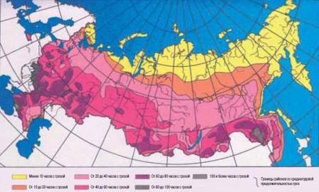 карта грозовых районов_России