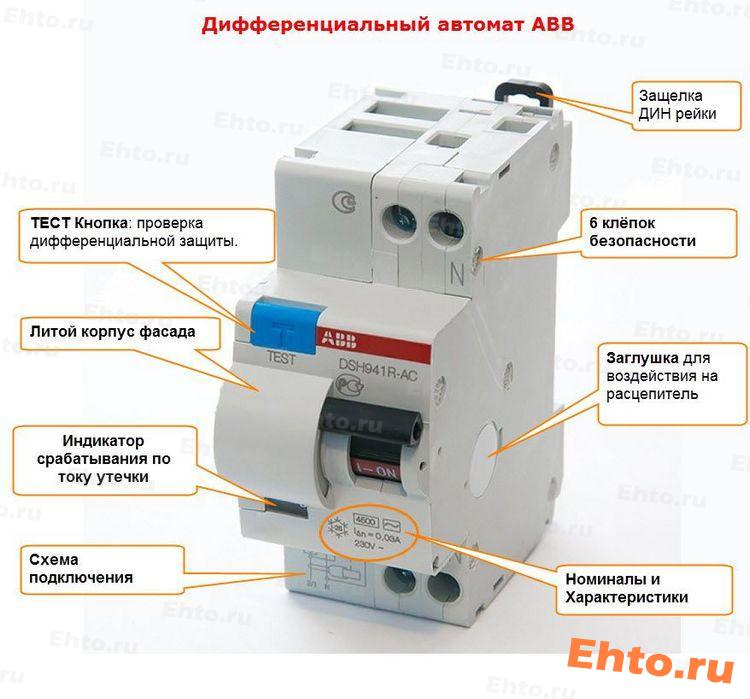 диффавтомат-ABB-фото