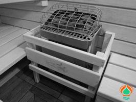Электрическая печь для сауны