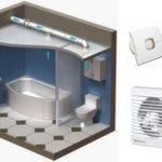 Покупаем вентилятор для вытяжки в ванной