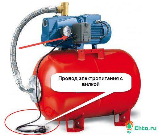 электропитание насосной станции