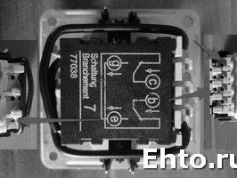 Схемы подключения выключателей освещения