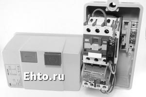 Схема подключения пускателя двигателя