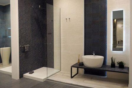 электропроводка в большой ванной