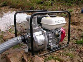 Водяная мотопомпа, что такое, как выбрать