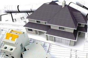 электрическая часть проекта дома