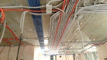 электропроводка в коттедже