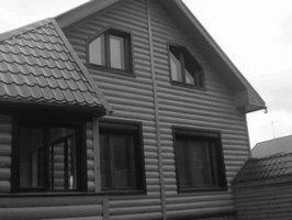Что такое металлический блок-хаус