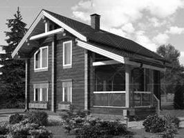Ошибки при строительстве дома из клееного бруса