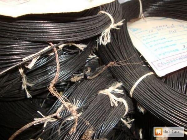 Провода и кабели специального назначения