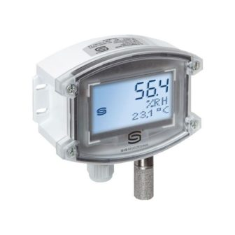 датчик CO2 с микропроцессорным управлением