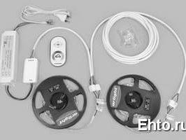 Светодиодные ленты для освещения и их комплектация