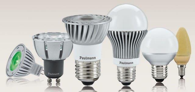 лампы освещения