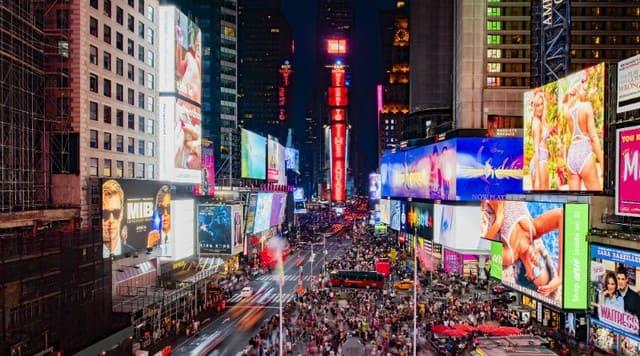 Times Square в Нью-Йорке