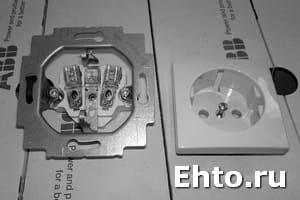устройство электрических розеток