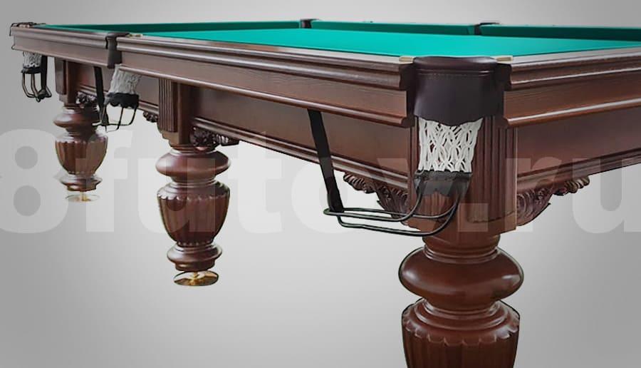 Бильярдный стол Бриз производства Брянская бильярдная фабрика