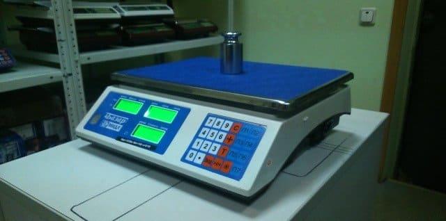 как работают электронные весы