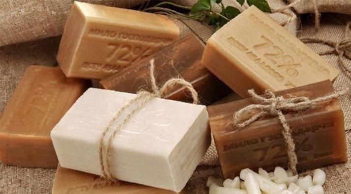 хозяйственне мыло