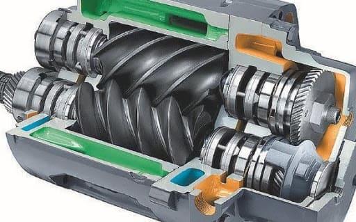 маслозаполненый винтовой компрессор