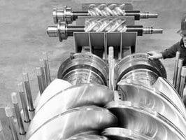 Что такое маслозаполненый винтовой компрессор