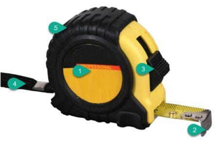 измерительный инструмент: Рулетка строительная