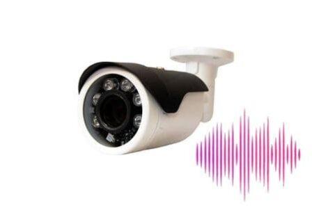 видеокамера наблюдения со звуком