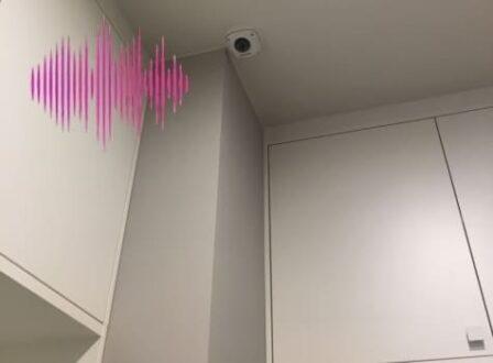 видео камера наблюдения со звуком