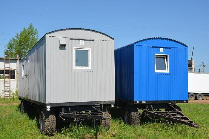 мобильные здания: вагон дома