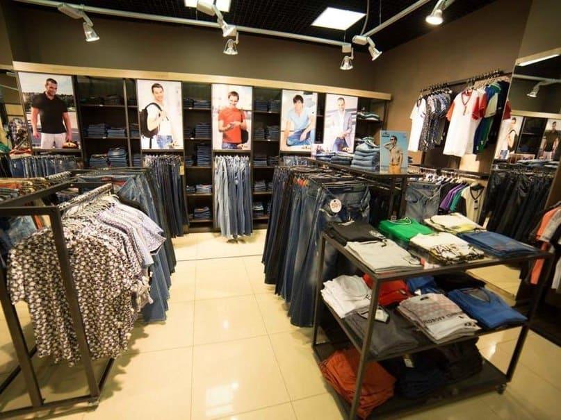 сток мужской одежды