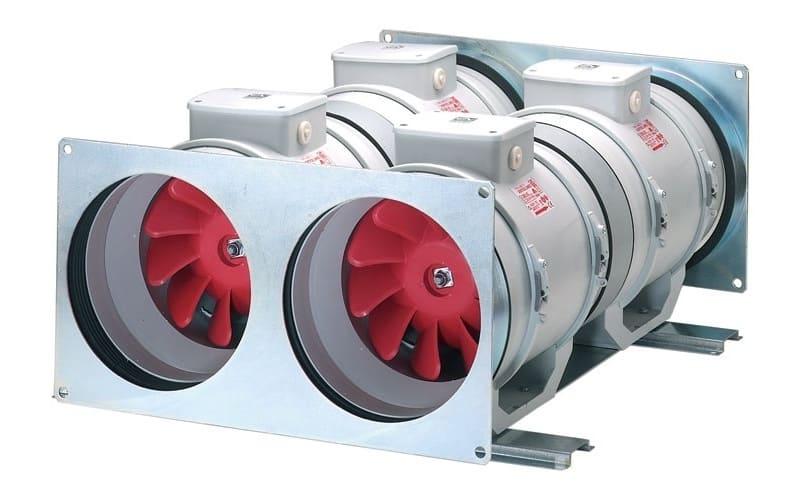 мощные канальные вентиляторы