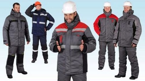 Спецодежда для электромонтажников зимой