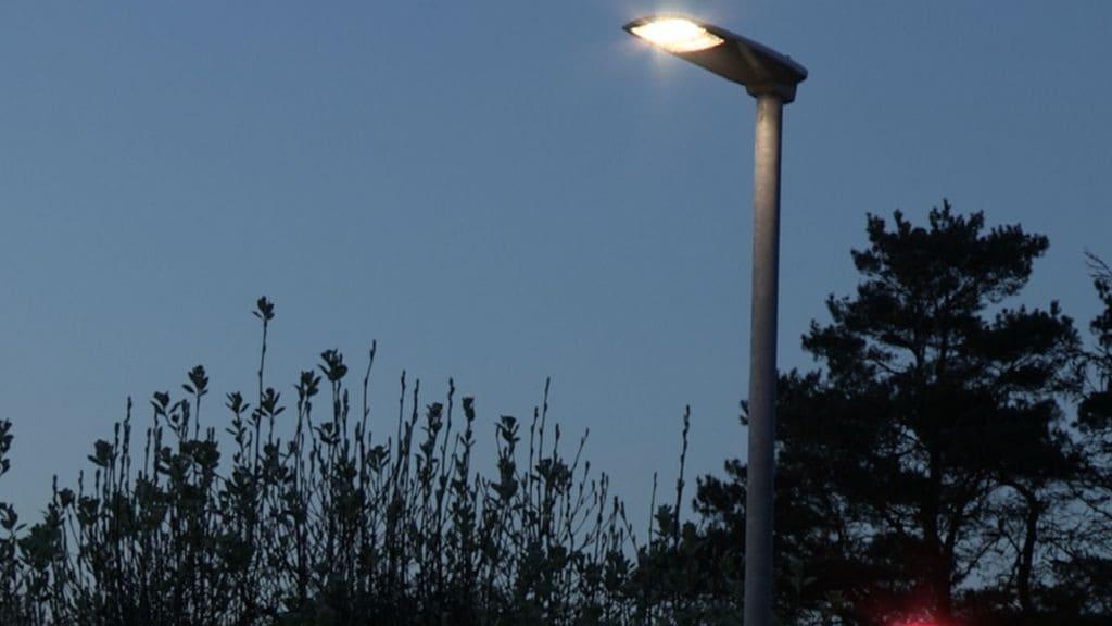 Современное светодиодное освещение улиц
