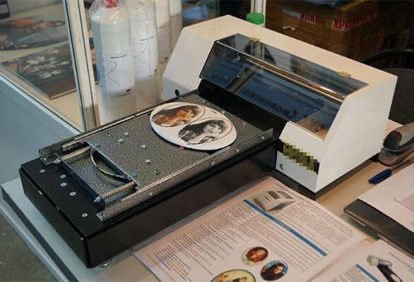 фотомедальон на принтере