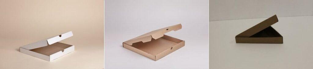 коробки квадратной или треугольной формы