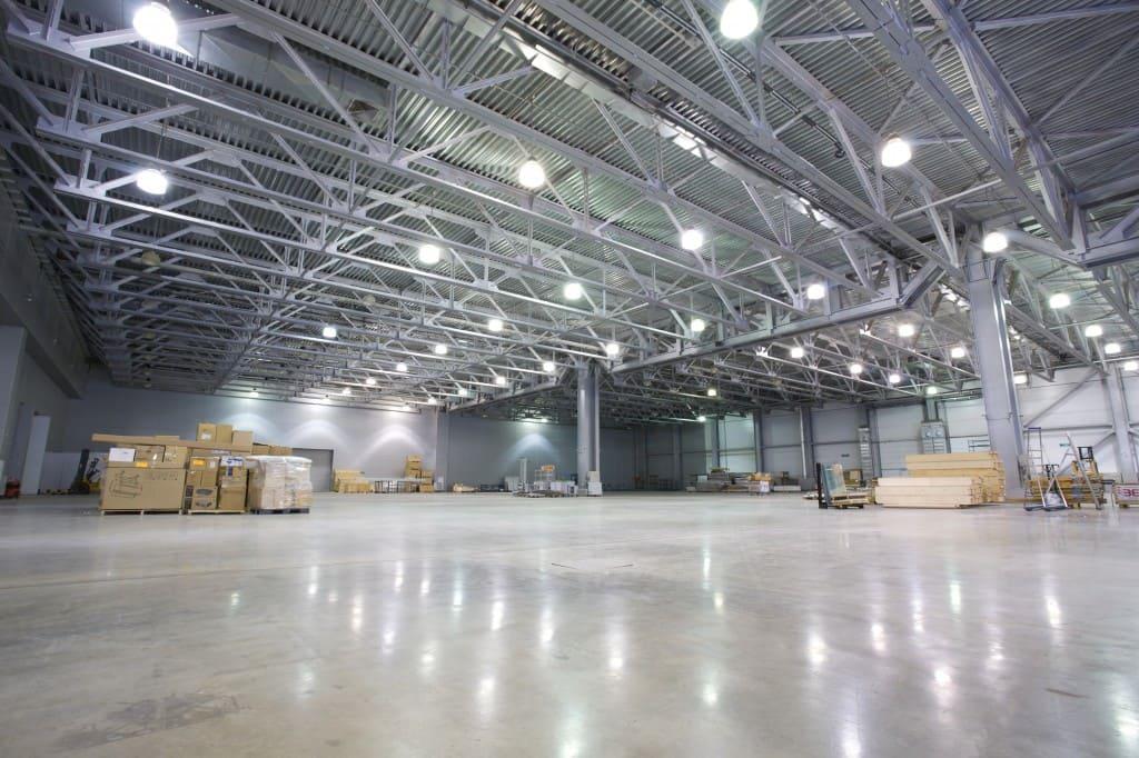светодиодное освещение склада